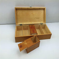 Famous Watch Red Wood Brand Box Omega Watch Box