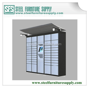 Intelligent logistics package delivery lockers, smart package delivery digital lock, steel lockers digital package delivery
