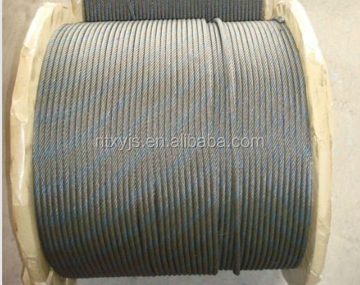 6x19 steel rope fence /pvc coated steel wire rope/steel wire rope 10mm