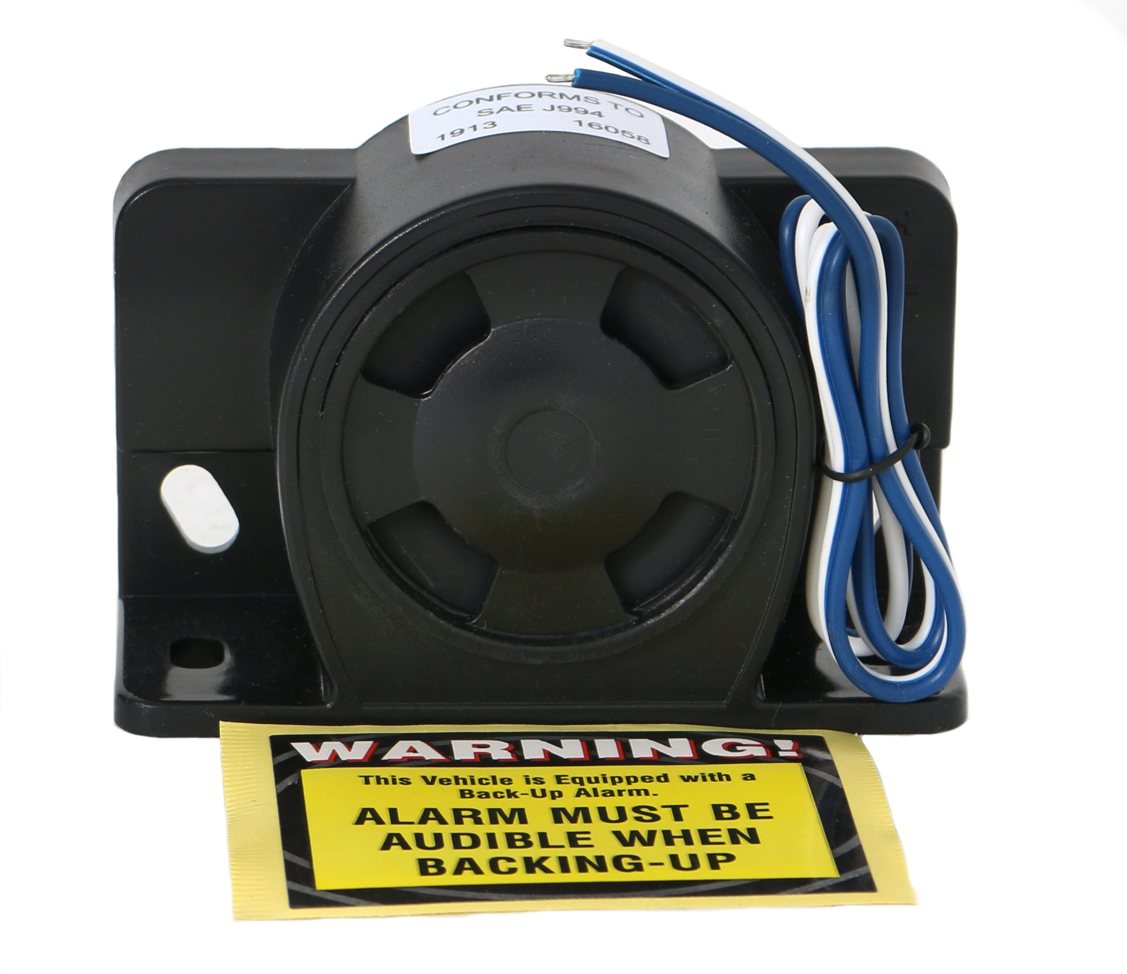BACKUP WARNING SIREN BU2000CW 12 to 24 Volt 112DB Reverse Motion Warning Alarm by Magnadyne