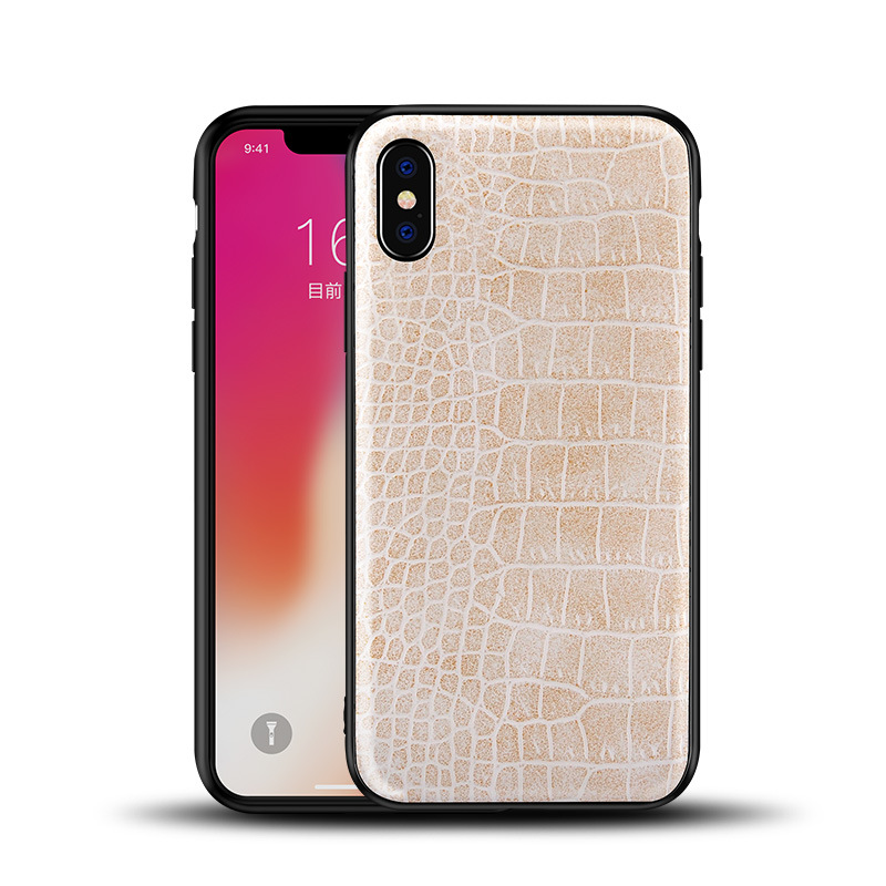 Terbaik Slim Crocodile Pattern Leather Punggung Phone Case untuk Samsung Galaxy S8 S8 Plus S9 S9 Plus Note 8 catatan 9