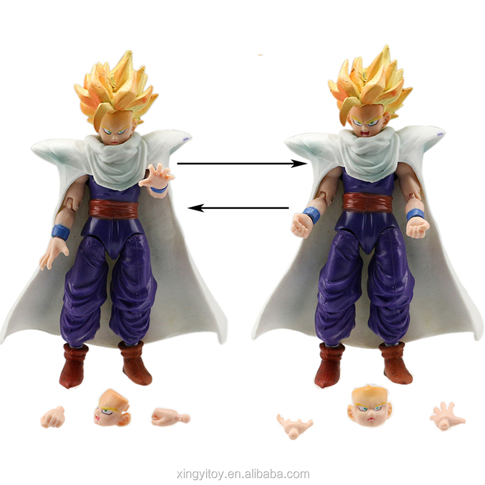6 pcs action figures Anime Dragonball Z DBZ Goku Vegeta Toys loose
