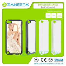 Hot Selling Wholesale 2D Printable Blank Sublimation Cell Phone Case For Apple iPod Touch 5