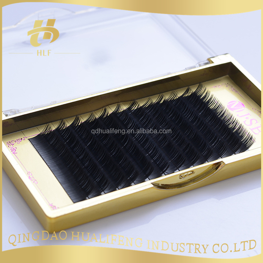 high quality korean prime silk eyelash extension lashes