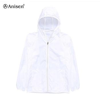 95a66165b01 custom white foldable thin rain jacket wholesale nylon women windproof lightweight  outdoor waterproof jacket