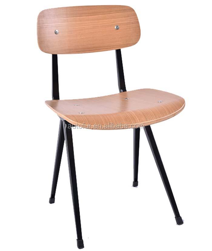 modern manufacturer red furniture restaurant metal dining chair