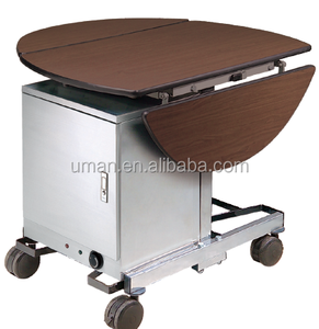 Double Drop leafs Room service trolley/Hotel food service trolley/Mobile food trolley