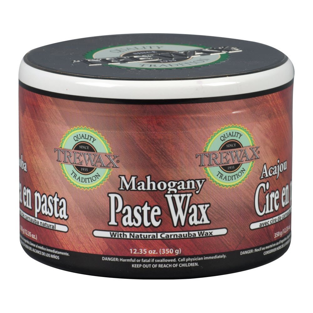 Trewax Paste Wax Mahogany Indian Sand, Pack of 2, 12.35-Ounces Each