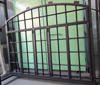 Steel frame Fixed window, single or double glazed tempered glass, thermal/non-thermal barrier frame