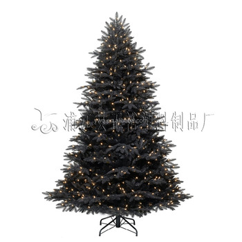 6 Pre Lit Black Led Christmas Tree Bearable Tree Buy Led Spiral