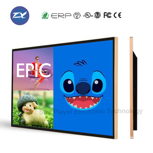 50 inch LCD Digital Signage 25mm super slim frame advertising monitor