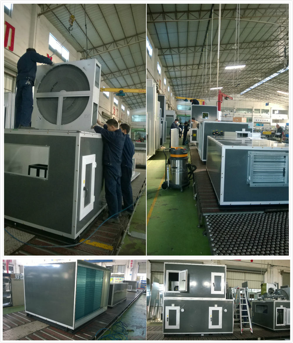 Dx Type Fresh Air Handling Unit Fahu With Air Cooled