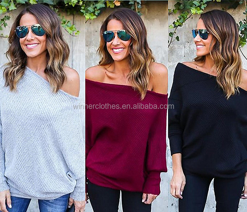 Stylish Cold Shoulder Oversize tops for women ladies tops and blouses