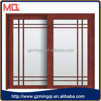 America Popular Style Modern House Aluminium Sliding Window In Wooden Color With Grill Design With Mosquito Nets Buy Sliding Window With Mosquito