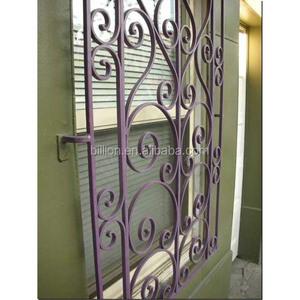 Decorative Window Security Bars Design