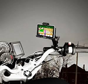RUGGED MOTORCYCLE MOUNT FOR GARMIN NUVI 2300 2300LM 2350 2350LT 2350LMT 2360LT