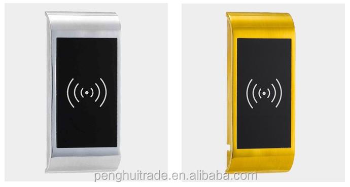 goldene mobel schrank digitale stauraum smart rfid elektrische gehauseschloss