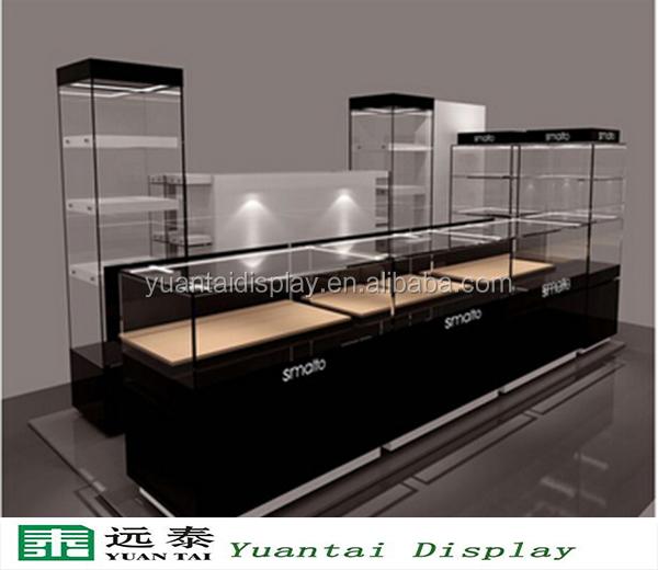 personnalis bijoux en verre comptoir de magasin. Black Bedroom Furniture Sets. Home Design Ideas