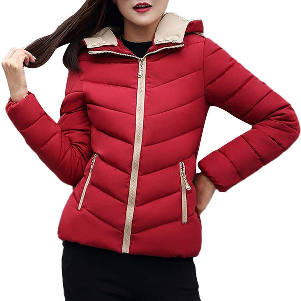 09ec68d1e0fe6 Get Quotations · Amiley Parkas Women Winter