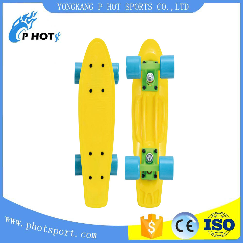 skateboard fishboard 17 inch retro plastic cruisers skateboard