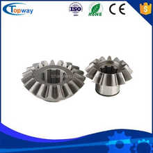 steel made spur helical bevel forging gear for gearbox pto drive machine