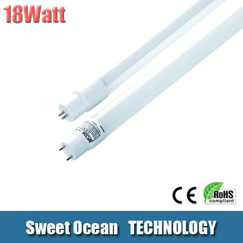 1200mm 18w smd3528 tube t8--360 Beam Angle ,95-100lumen/watt