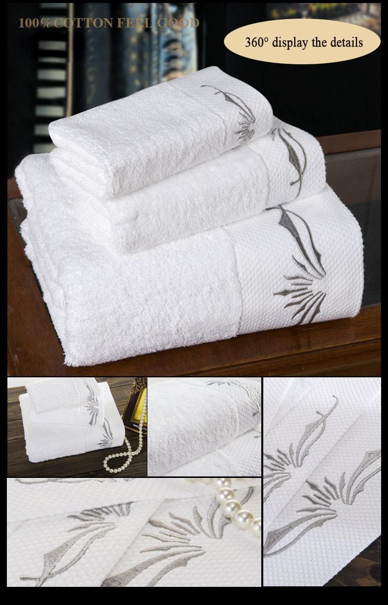 China Made Lowe Cost Bathrobe Towel Fabric/alibaba Hotel 100 ...