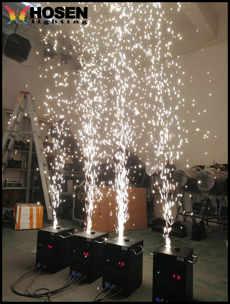 Hot selling Stage Effects cold spark fountain Safety Spark Flame Firework Machine