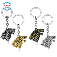 hot sales wholesales factory direct cheap price game of thrones key chain keychain