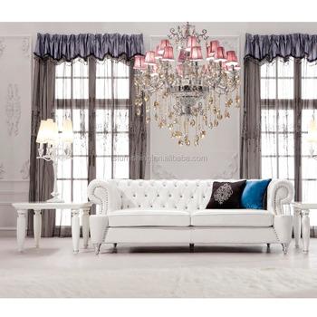 JR307B Night Club Sofa Elegant Chesterfield Sofa Design / American Style  Sofa Set / Lastest Sofa