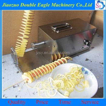 High Efficiency Spiral Potato Slicer Multi Functional Electric Spiral Potato Cutter Buy Twist Potato Spiral Cutterelectric Tornado Potato