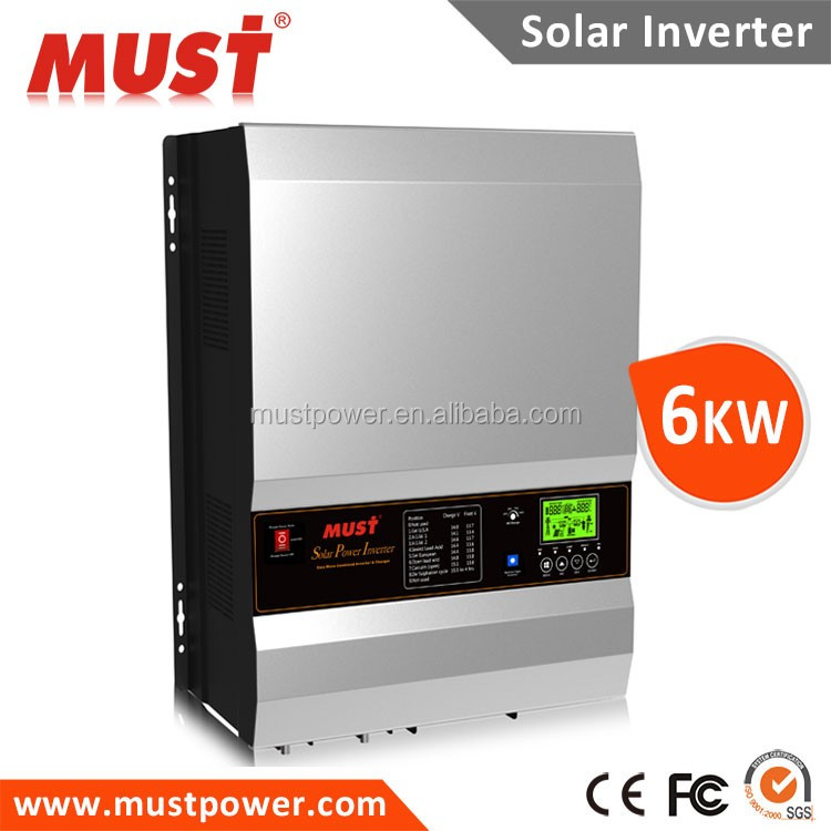 Solar inverter 10kw 5kw for generator motor and government power supply