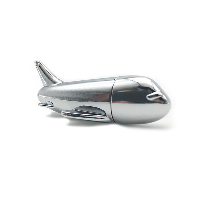 Airplane shape USB Flash Drive Zinc alloy High Speed 2.0 Memory Drive