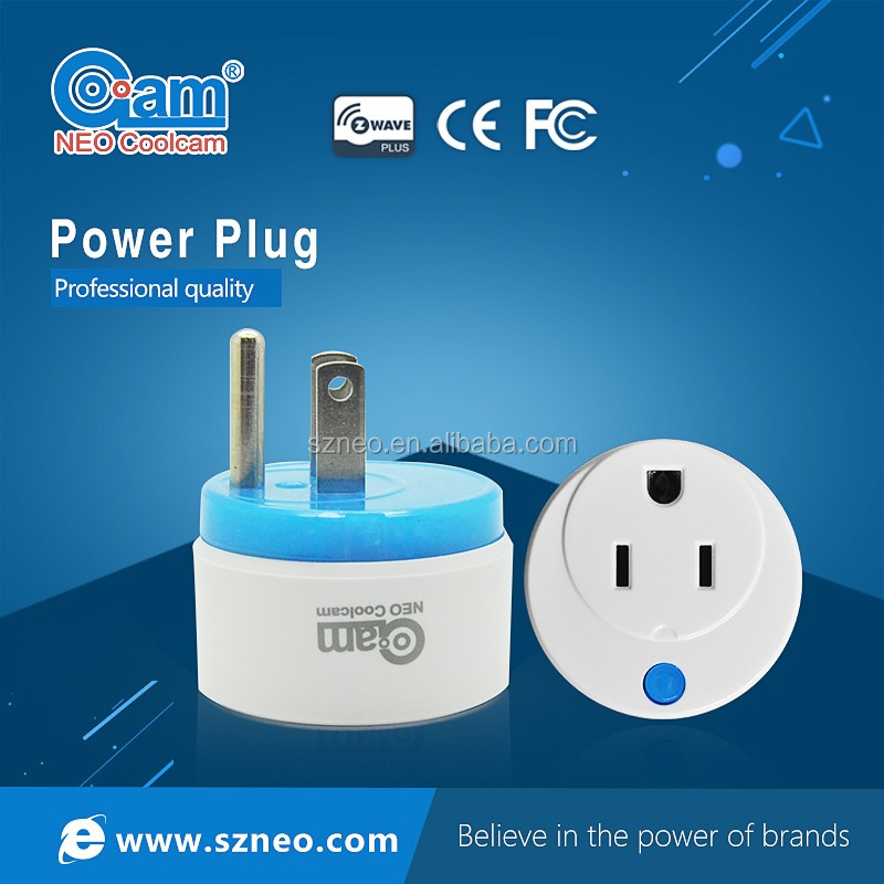 neo coolcam Z-wave power plug used for smart home