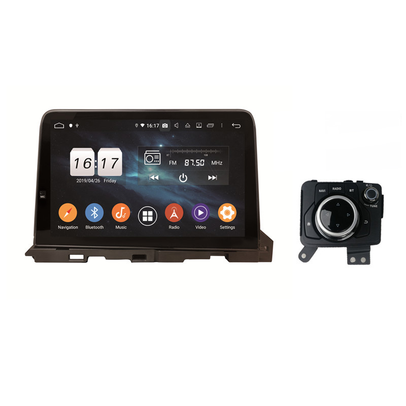 KLYDE 9 Inch Android 9.0 Car Navigations Bluetooth Radio For New MAZDA 6 2019 Atenza Without CD DVD