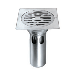Stainless Steel Floor Trap Drains Sanitary Cleanout Floor Drainer High  Water Sealed The Floor Drain F025-Pate