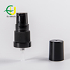 18/410 black plastic treatment pump with ribbed closure