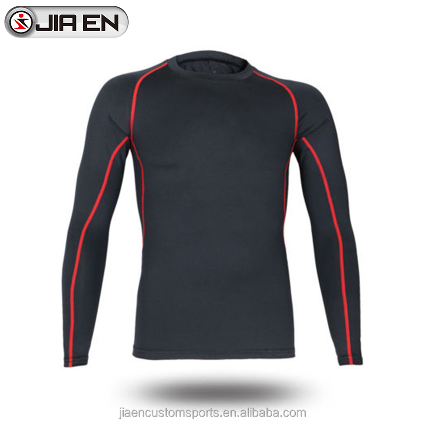Latest custom mens compression shirt wholesale sublimated fitness wear for men
