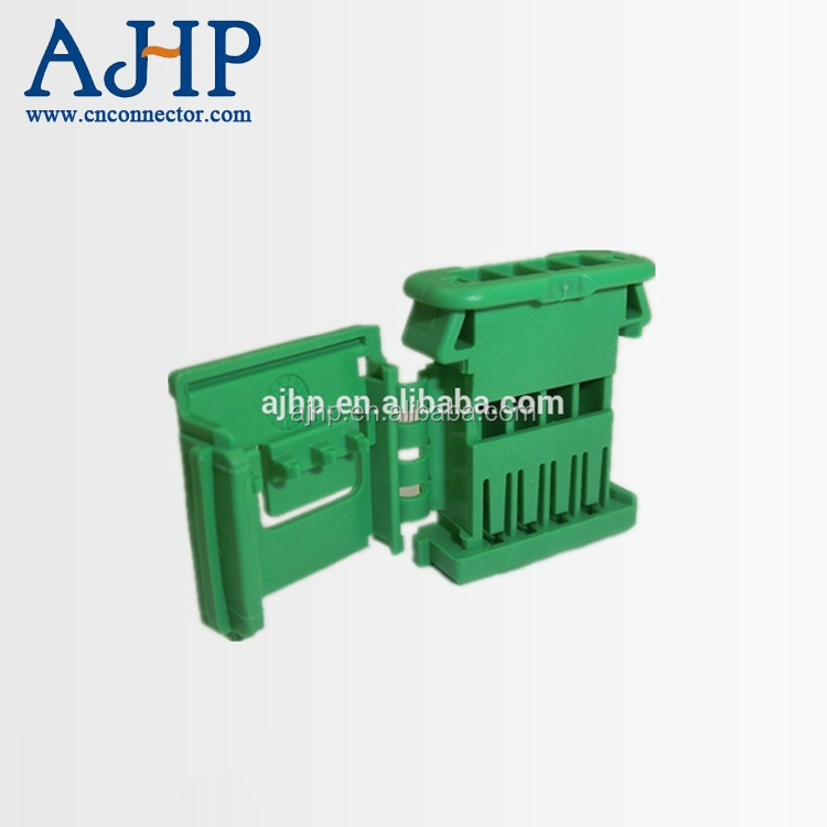 4 pin green female auto plastic electrical waterproof wire plug connector 98817-1045 10205325 0988171045