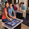 retail internet video game kiosk interactive multi touch table for sale