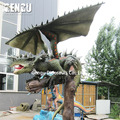 Outdoor Amusement Park High Simulation Dragon Robot Model