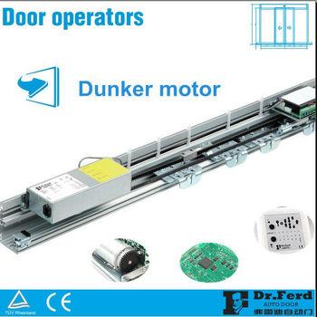 Germany dunker motor auotmatic sliding door operator buy for Sliding glass doors germany