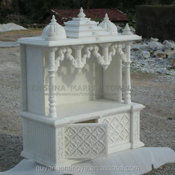 Indian marble temples for home stone buy marble temples for Home mandir designs marble
