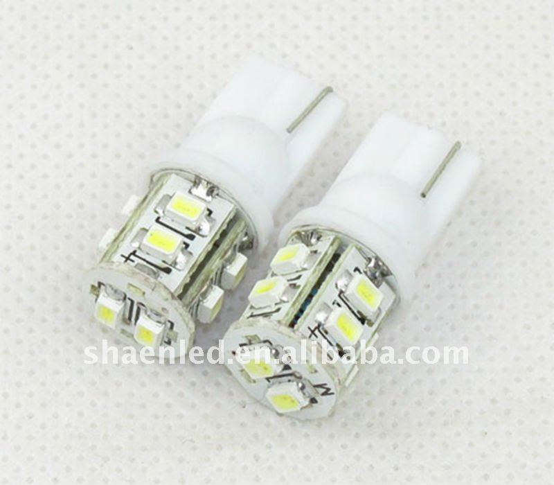 led llight bulb T10 10SMD all cars names and logos