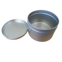 Decorative Round Metal Tins For Candles
