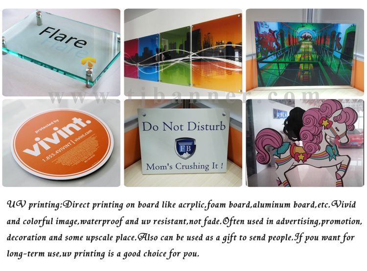 Custom Digital Printed PVC Foam Board Sign / PVC Sheet Advertising Sign Paper Foamex Board