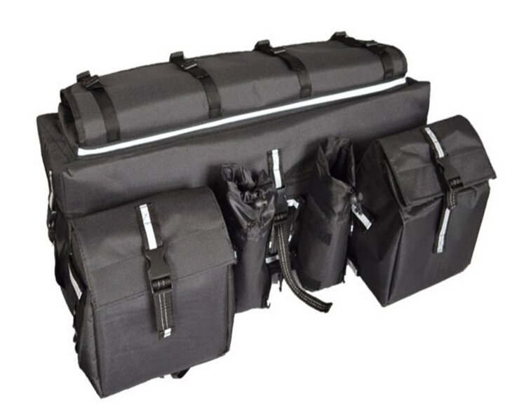 Get Quotations Atv Rear Cargo Bag Rack Soft Luggage Storage