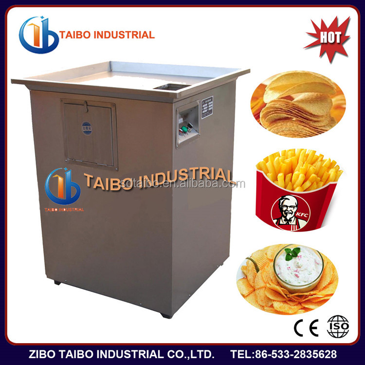 High working effiency automatic potato chips production line for KFC