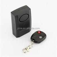 Home Security Wireless Remote Control Car Motorcycle Bike Window and Door Vibration Sensor/Detector Burglar Alarm