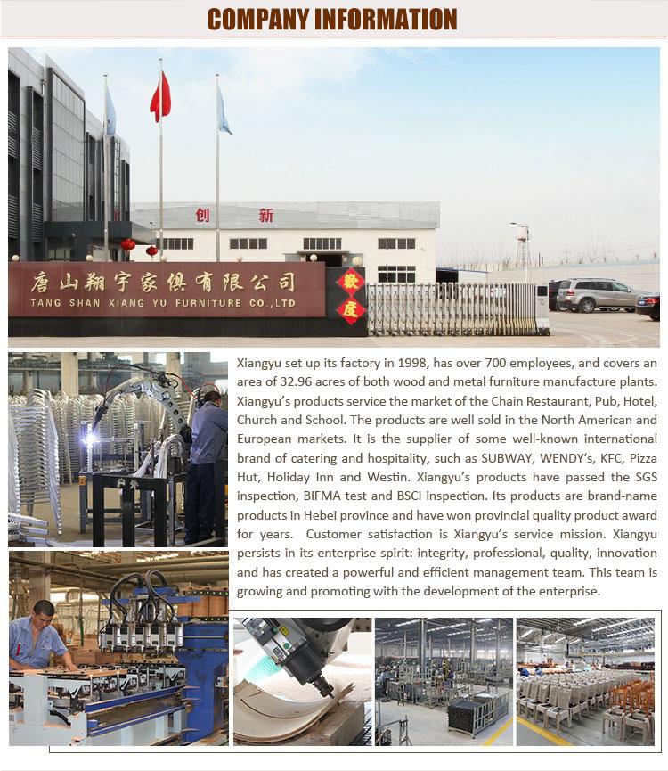 2019 fábrica de China de madera de mesa y sillas para cafe restaurante asientos
